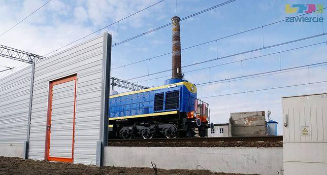 Zawiercie. Ekrany akustyczne powinny ograniczyć hałas pociągów.