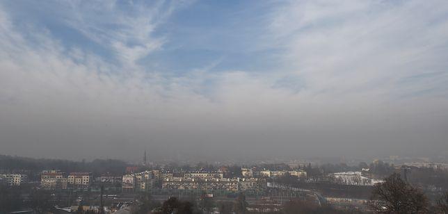 Smog Kraków - 31 grudnia