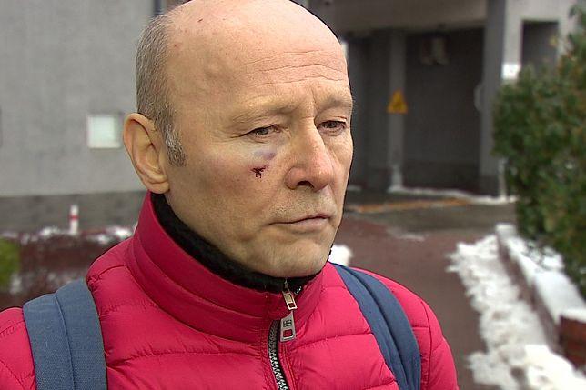 Krzysztof Pieczyński pobity na ulicy. Jest reakcja Patryka Jakiego