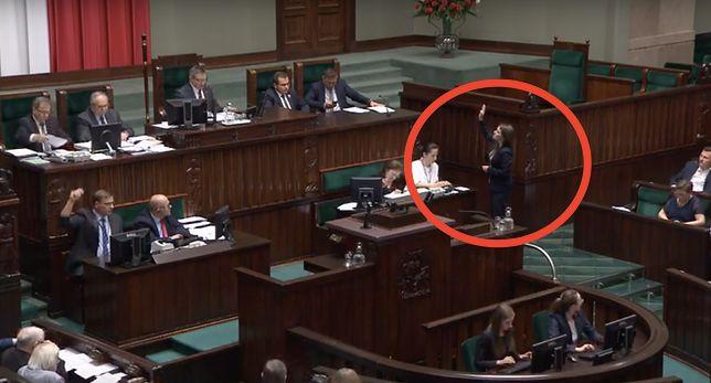Głosowanie ws. Westerplatte w Sejmie. Agnieszka Pomaska chciała zgłosić wniosek formalny