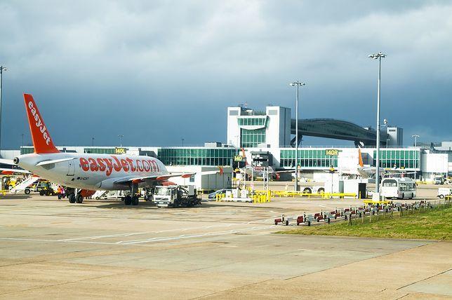 Interwencja policji na lotnisku Gatwick w Londynie