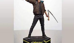 V, czyli główny bohater gry Cyberpunk 2077. Projekt statuetki musi być jeszcze zaakceptowany przez CD Projekt