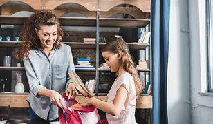 Odpowiedni plecak pomieści potrzebne przybory i książki