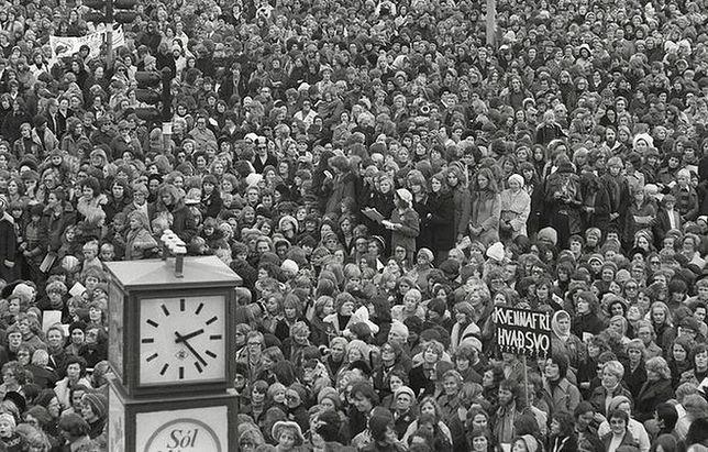 Jednego dnia w Islandii strajkowały wszystkie kobiety. Takich efektów nikt się nie spodziewał