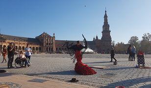 Flamenco w Sewilli jest obecne na każdym kroku