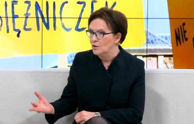 Ewa Kopacz: PO było zawsze tym ugrupowaniem, które promowało kobiety