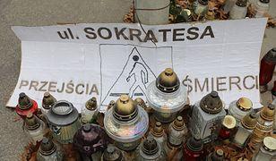 Warszawa. Po wypadku na Bielanach na ul. Sokratesa wzmocniono patrole straży miejskiej