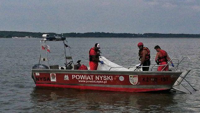 Po czterech dniach akcji zakończono poszukiwania żeglarza na Jeziorze Nyskim