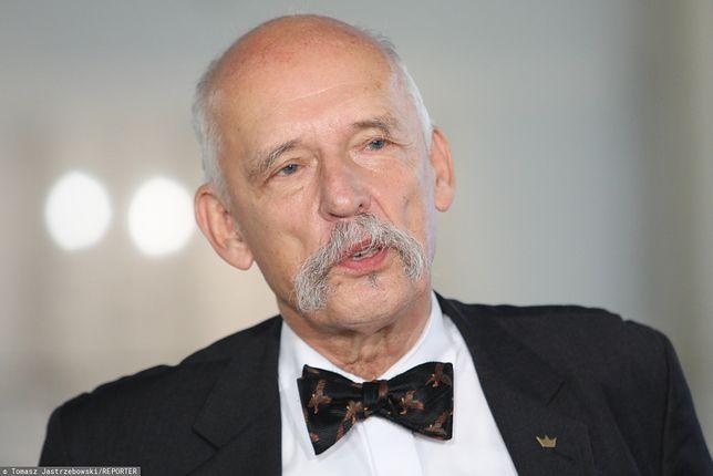 Wybory parlamentarne 2019. Janusz Korwin-Mikke: współpracujmy z Rosją zamiast USA