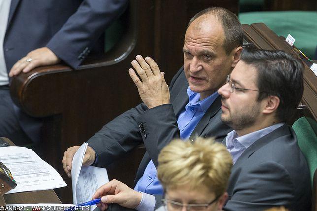 Paweł Kukiz i Stanisław Tyszka w Sejmie