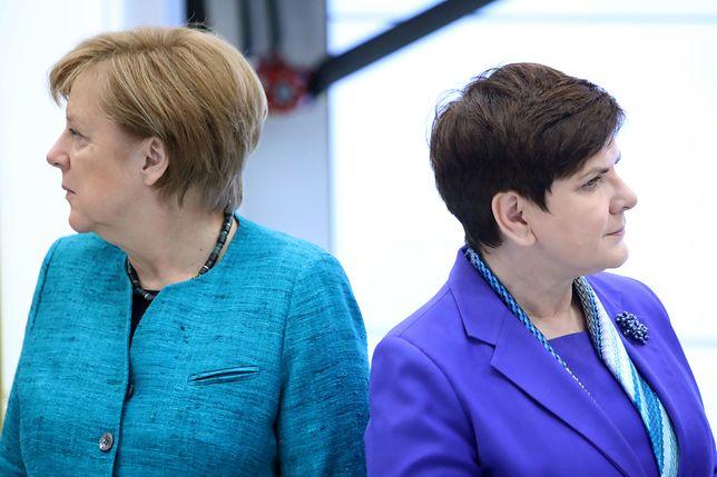 Angela Merkel dzwoniła do Mateusza Morawieckiego po głosowaniu w PE
