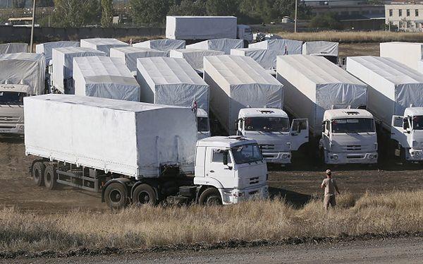 Władze Ukrainy: rosyjski konwój wciąż nie został skontrolowany na granicy