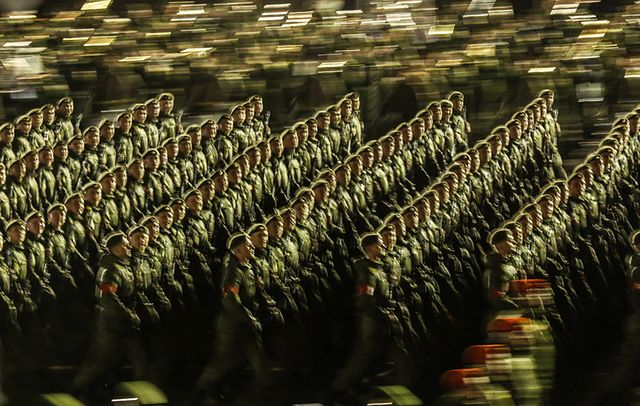 Tysiące żołnierzy i czołgi w Moskwie. Próba generalna