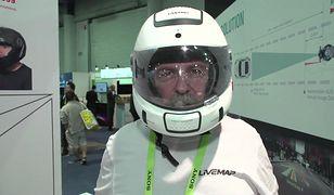 Inteligentne kaski z wyświetlaczem HUD. Poprawią bezpieczeństwo motocyklistów