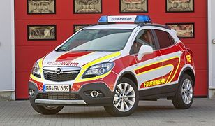 Opel Mokka jako auto dla służb ratowniczych