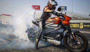 Harley-Davidson LiveWire pobił rekord na 1/4 mili.