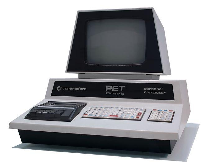 Commodore PET 2001 (autor: Tomislav Medak, licencja CC BY-SA 3.0)