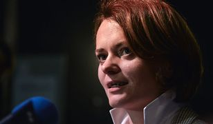 Jadwiga Emilewicz oburzona unieważnieniem głosowania, w którym wygrała piosenka Kazika