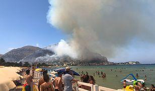 Groźny pożar na Sycylii
