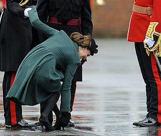 Księżna Kate podczas dnia św. Patryka
