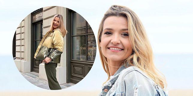 Joanna Koroniewska w stylizacji na jesień