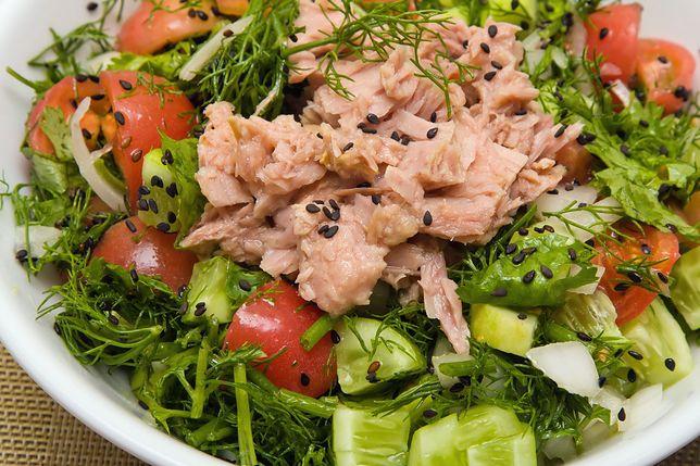 Tuńczyk jest produktem niskokalorycznym