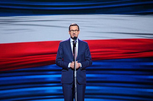 """Litwa. Mateusz Morawiecki w Wilnie o nowym kanale Telewizji Polskiej. """"Chodzi o prawdę"""""""