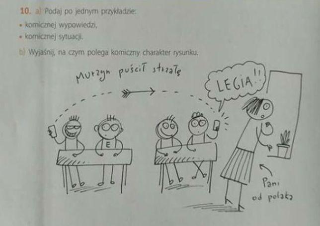 """""""Murzyn puścił strzałę"""". Takie zadanie figuruje w podręczniku do polskiego"""