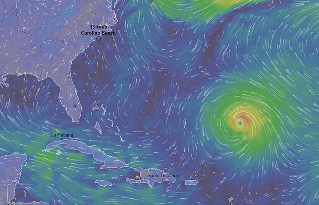 USA.  Huragan Florence uderzy w tym tygodniu. Trump ostrzega