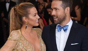 Blake Lively i Ryan Reynolds na czerwonym dywanie w Nowym Jorku