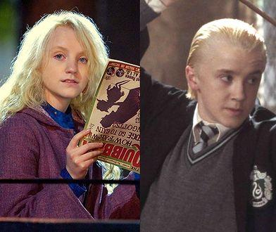 "Rupert Grint, Evanna Lynchi Tom Felton w filmach z serii ""Harry Potter"""