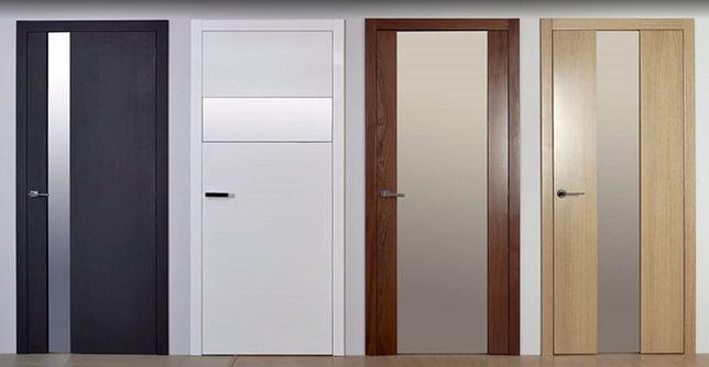 Za pomocą jednego przycisku możesz zmienić stopień przezroczystości drzwi