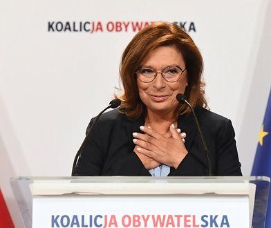 """Małgorzata Kidawa-Błońska kandydatką na premiera. """"Schetyna próbuje znaleźć własną Beatę Szydło"""""""