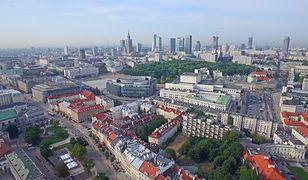 Warszawa widziana z drona [Niesamowite wideo]