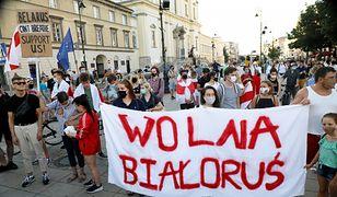 Warszawa solidarna z Białorusią. Ratusz zapowiada pomoc