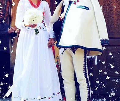 Paulina Krupińska i Sebastian Karpiel-Bułecka wzięli ślub pod koniec lipca 2018 r.