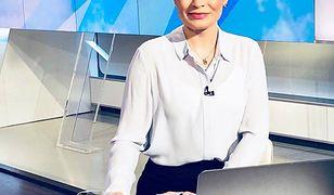 Joanna Górska po raz pierwszy od dawna na antenie Polsat News