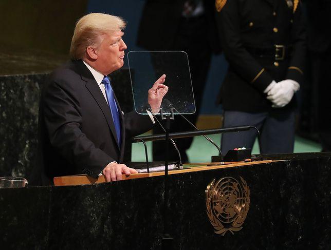 """""""Ostry i bezprecedensowy"""". Media o wystąpieniu Trumpa"""