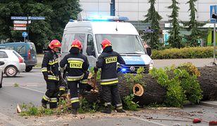 Niszczycielskie burze przeszły nad Polską. 1 osoba nie żyje, 10 jest rannych