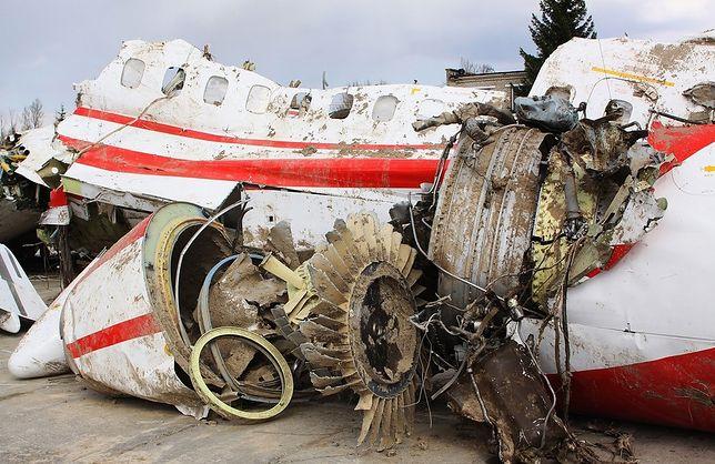 Wrak tupolewa, który rozbił się pod Smoleńskiem, wciąż pozostaje w Rosji