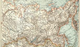 Mapa Syberii