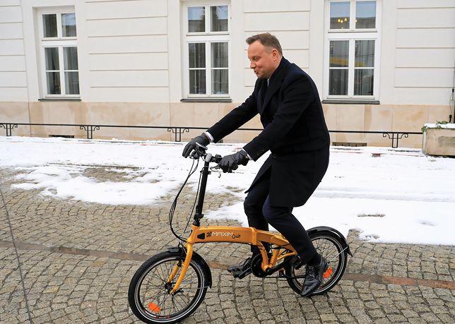 Andrzej Duda nie zabrał bezpośrednio głosu ws. szokującego reportażu o neonazistowskiej organizacji działającej w Polsce