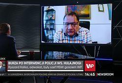 """Jelenia Góra. Incydent z hulajnogą. Ryszard Kalisz ostro krytykuje funkcjonariuszy. """"Milicja"""""""