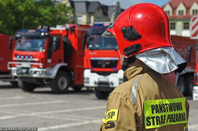 Tragiczny pożar w Białymstoku. Nie żyją dwie osoby