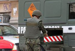 Trotyl i amunicja w piwnicy bloku w Płocku. Zatrzymany 69-latek