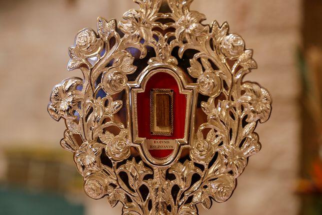Fragment drewna ze żłóbka Jezusa powrócił do Betlejem