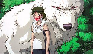 """""""Księżniczka Mononoke"""" to jeden z nielicznych filmów Ghibli, który trafił do polskich kin"""