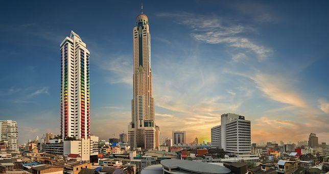 Nocleg na wysokości - Baiyoke Sky Hotel, Bangkok