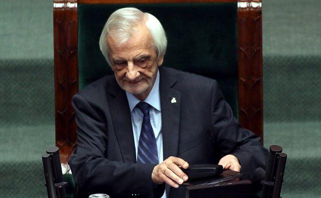 Marszałek Sejmu pomylił policję z milicją