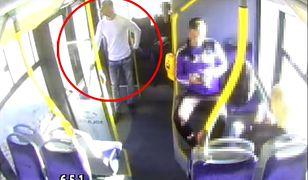Mężczyzna nagrany przez kamery monitoringu to prawdopodobny sprawca napaści